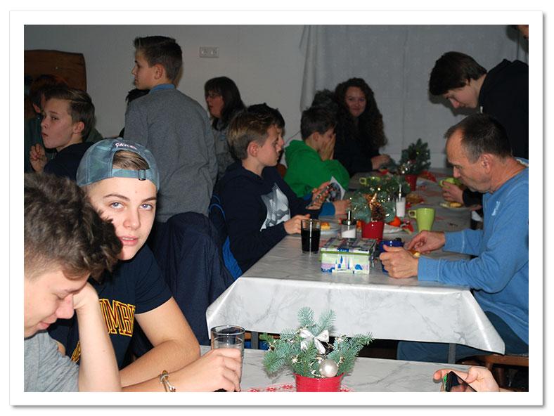 Oldenburg Weihnachtsfeier.Sfvo Berichte Jugend 2016